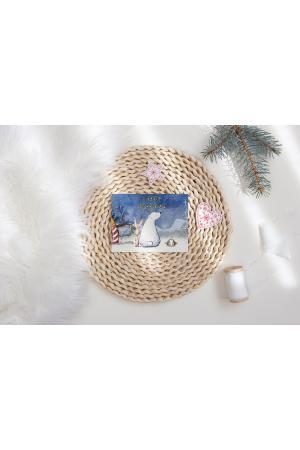 Happy Holidays - Ijsbeer op de Noordpool